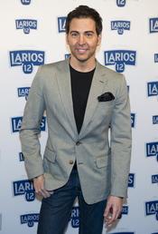 David Meca en la presentación del calendario Larios 2011