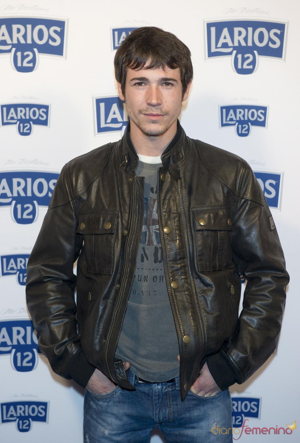 Juan José Ballesta en la presentación del calendario Larios 2011