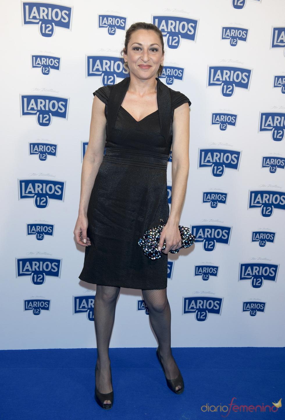 Mariola Fuentes en la presentación del calendario Larios 2011