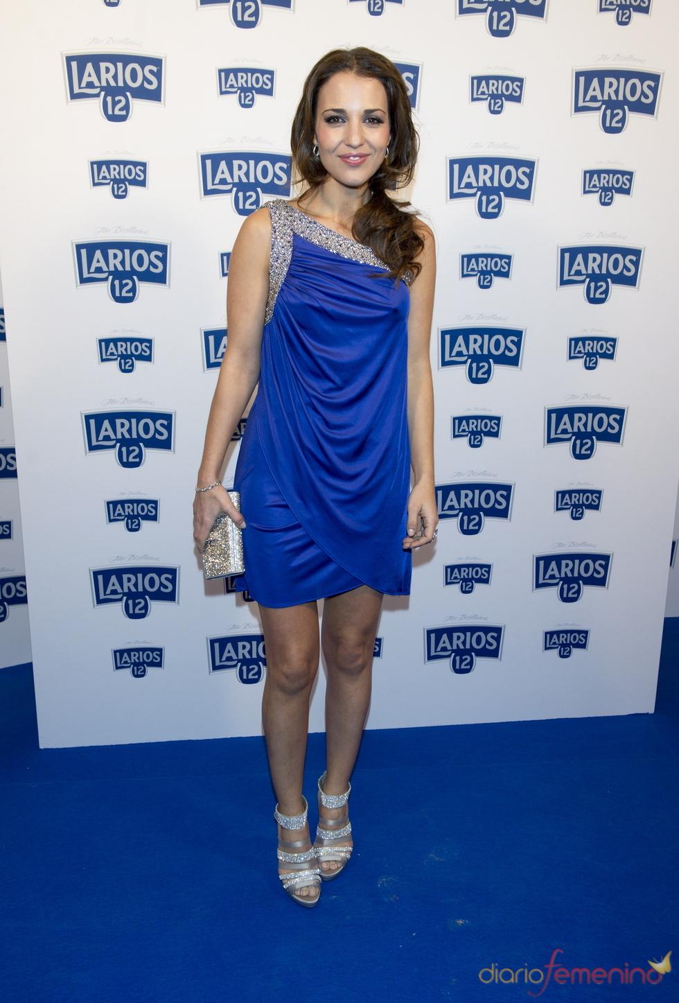 Paula Echevarría en la presentación del calendario Larios 2011