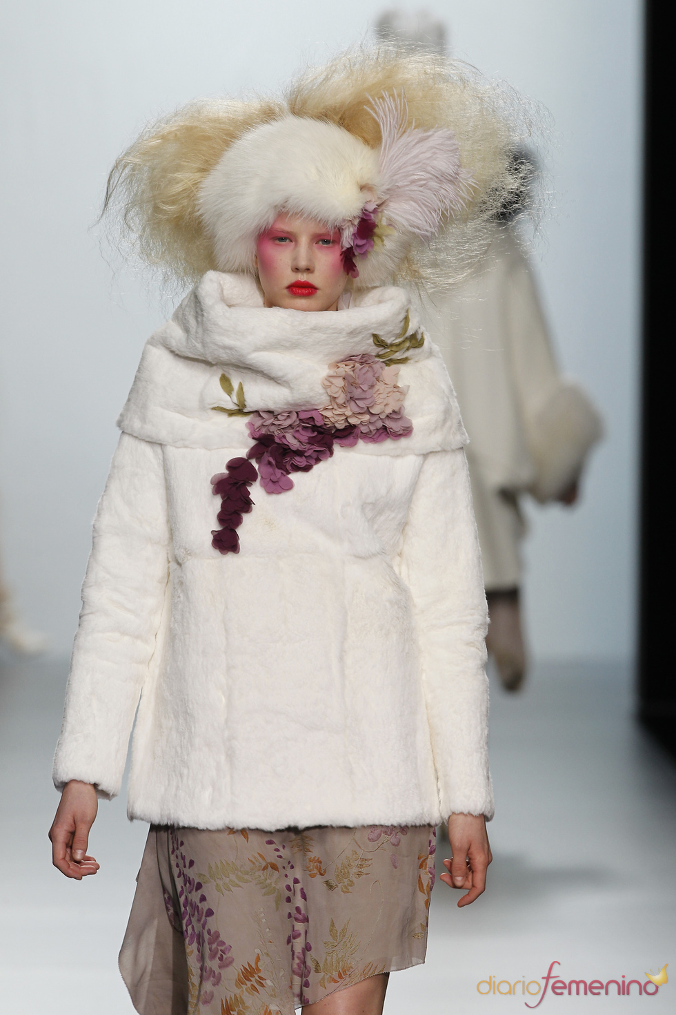 Jersey cuello vuelto. Elisa Palomino O/I 2011-12. Cibeles Madrid Fashion Week