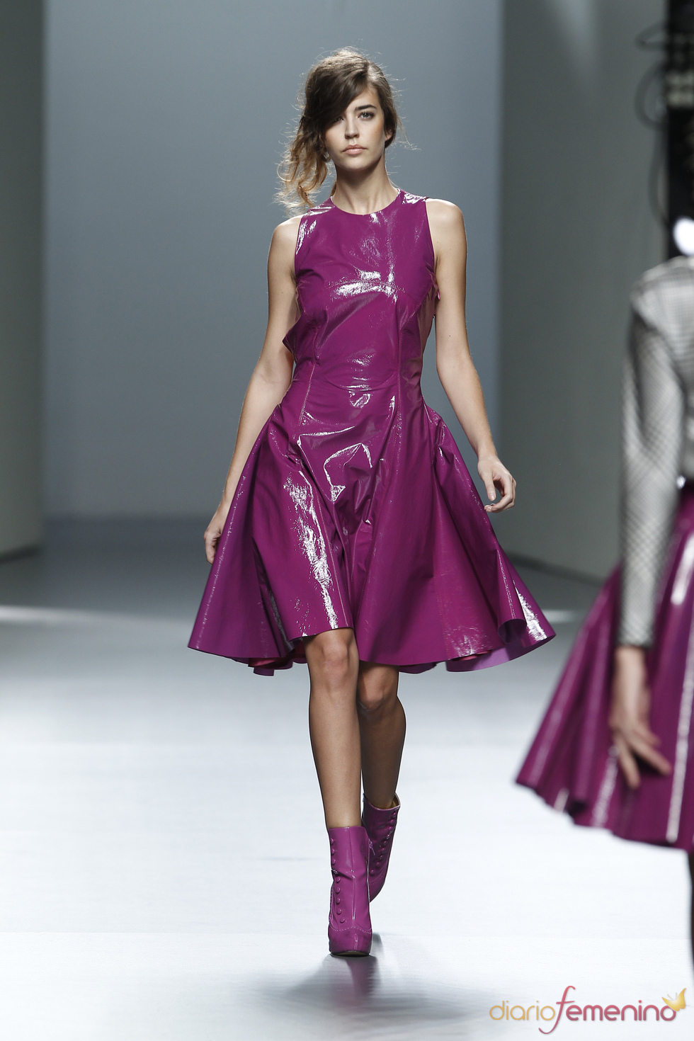 Espectacular vestido deTeresa Helbig O/I 2011-12. Cibeles Madrid Fashion Week