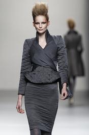 Vestido negro de Juana Martín
