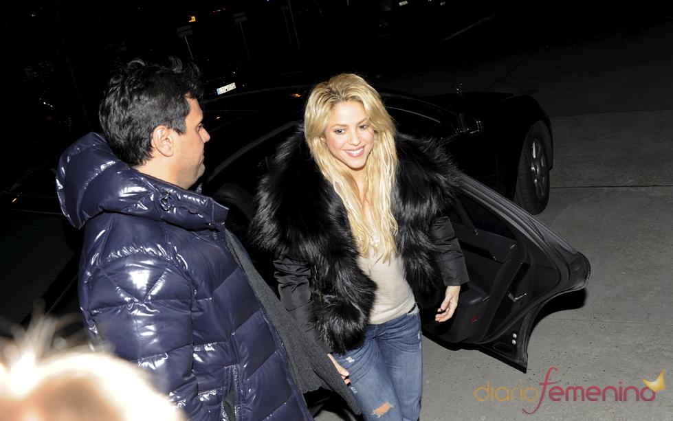 Shakira y Piqué, juntos en Berlín