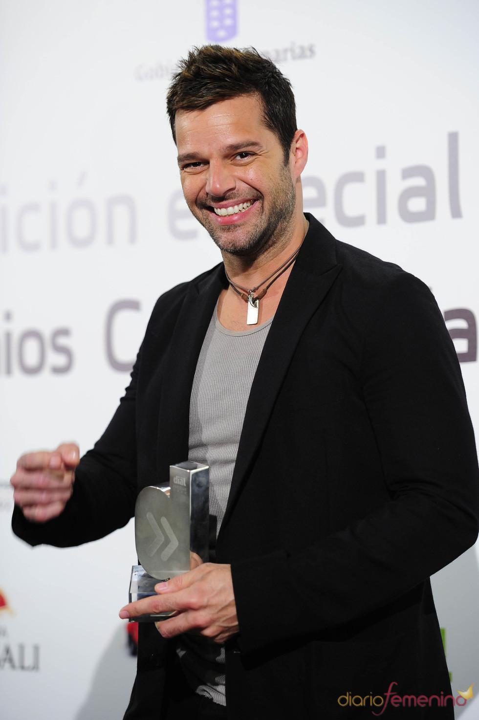 Ricky Martin en los Premios Cadena Dial 2011