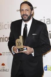 Juan Luis Guerra en los Premios Cadena Dial 2011