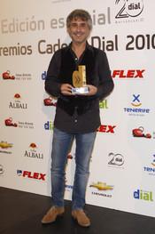 Sergio Dalma en los Premios Cadena Dial 2011