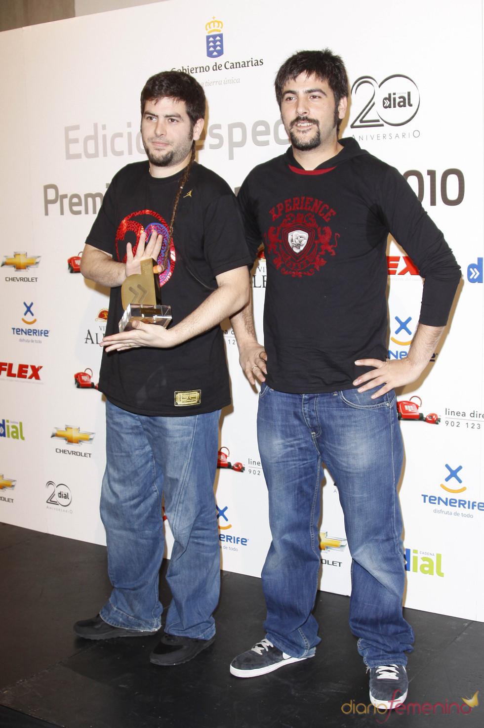 Estopa en los Premios Cadena Dial 2011