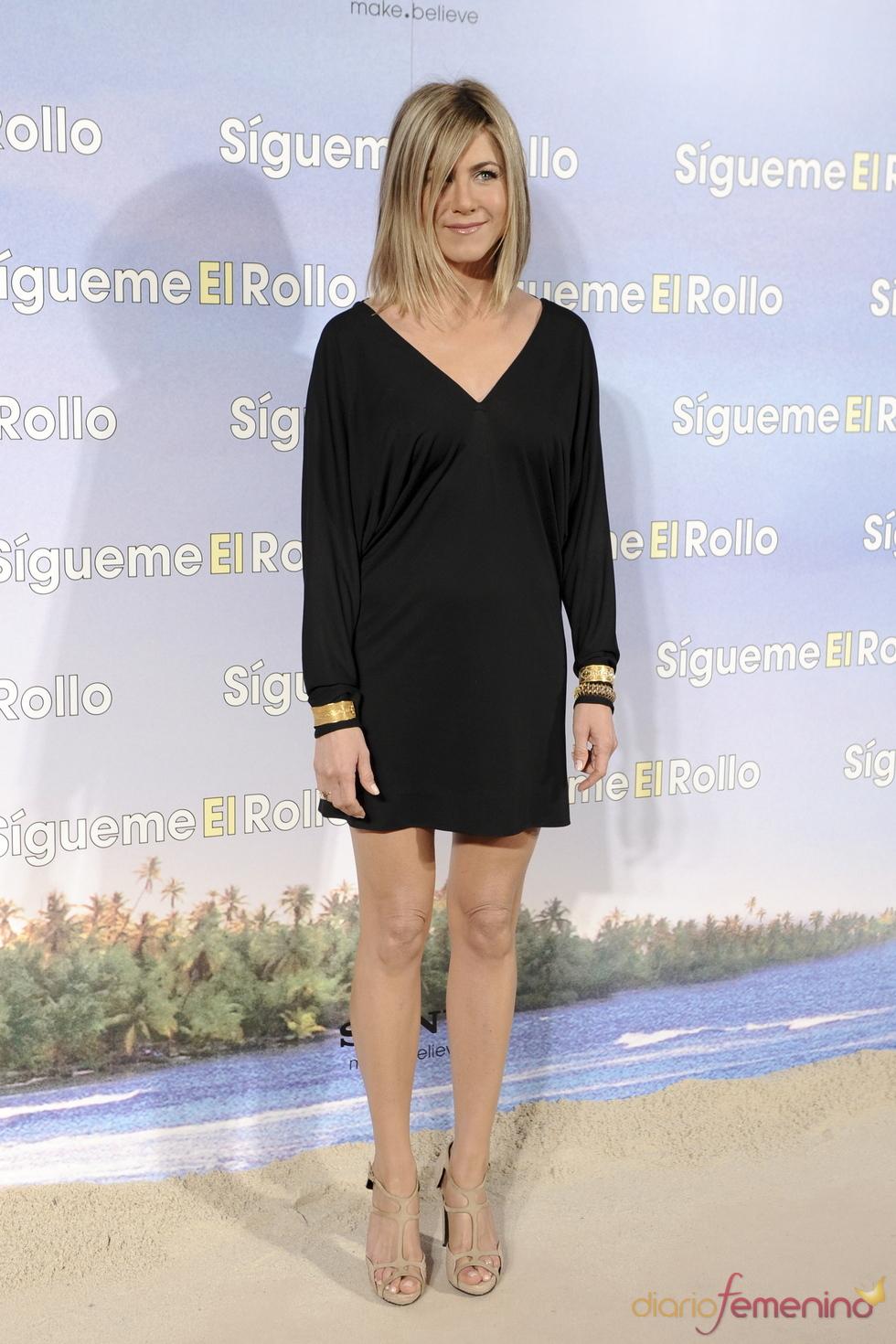 Jennifer Aniston en la premier de 'Sígueme el rollo' en Madrid