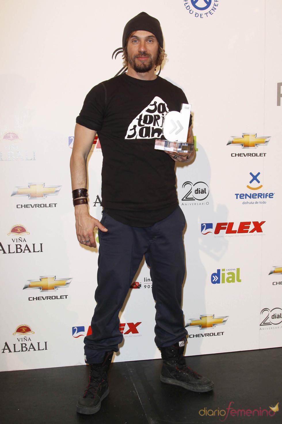 Macaco en los Premios Cadena Dial 2011