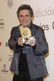 Miguel Ríos en los Premios Cadena Dial 2011