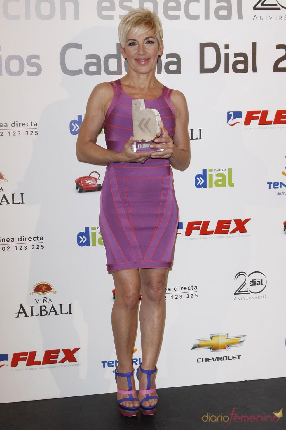 Ana Torroja en los Premios Cadena Dial 2011