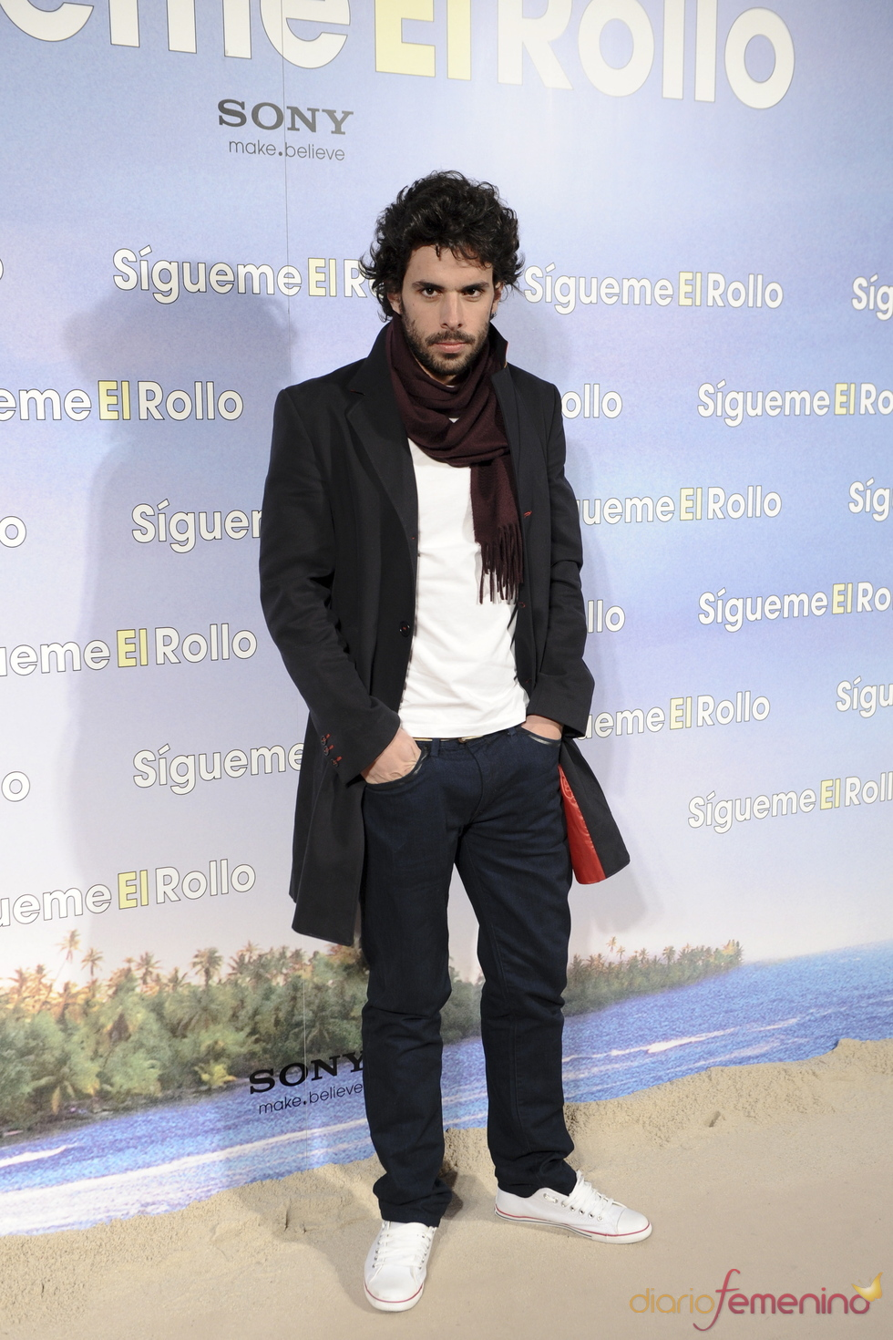 Alonso Aznar en la premier de 'Sígueme el rollo' en Madrid