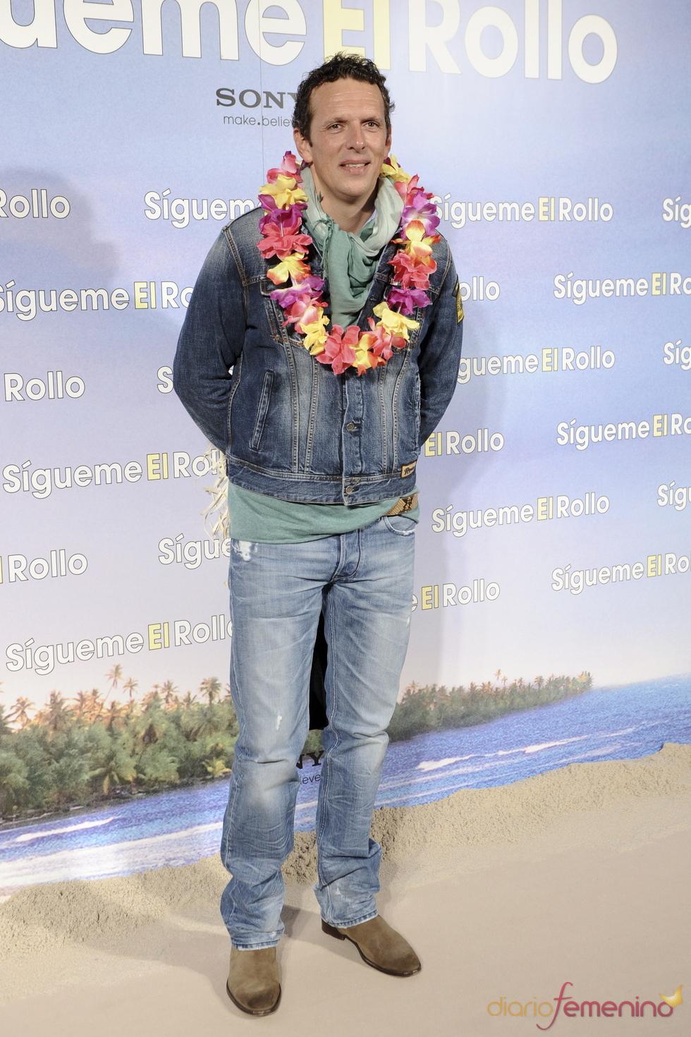 Joaquín Prat en la premier de 'Sígueme el rollo' en Madrid
