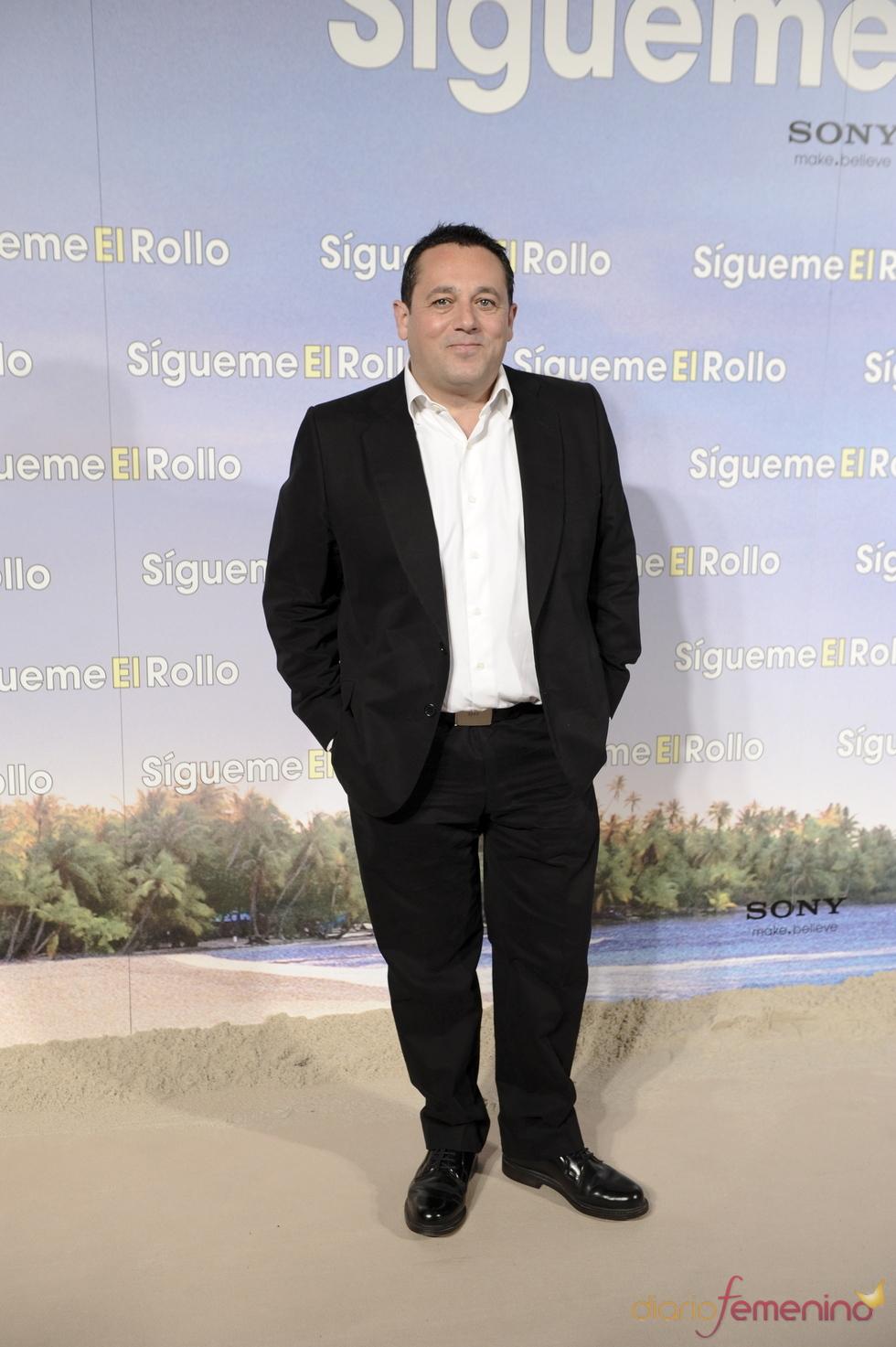 Pepón Nieto en la premier de 'Sígueme el rollo' en Madrid
