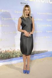 Natasha Yarovenko en la premier de 'Sígueme el rollo' en Madrid