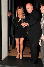 Jennifer Aniston,  de cena por Madrid tras la premier de 'Sígueme el rollo'