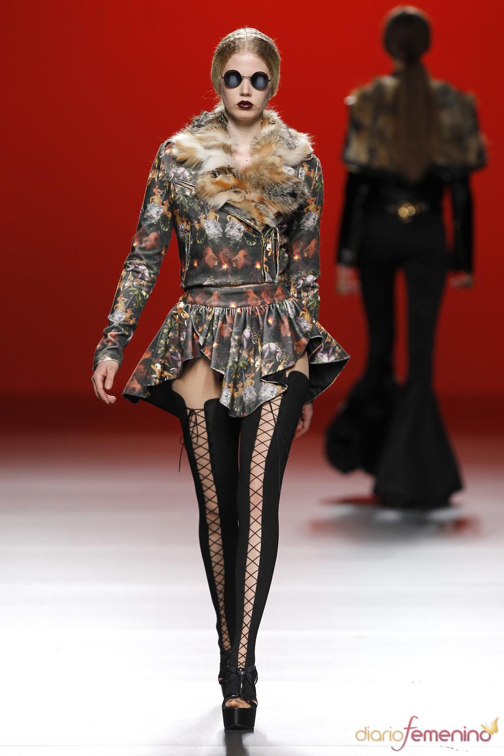 Estampados. María Escoté. Cibeles Madrid Fashion Week 2011