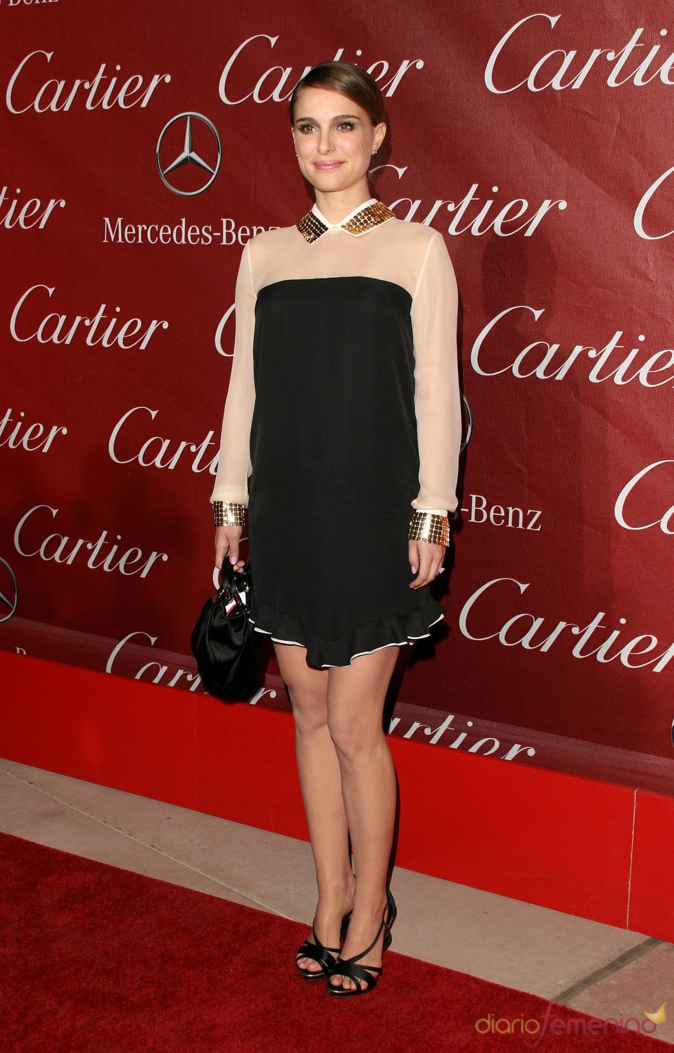 Natalie Portman con vestido de cocktail