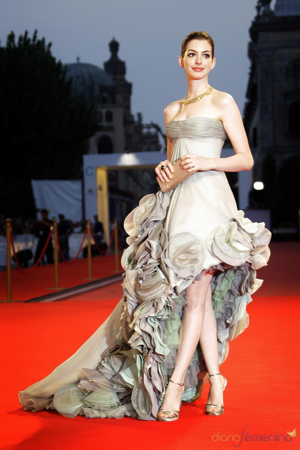 Anne Hathaway en el festival de Venecia 2008
