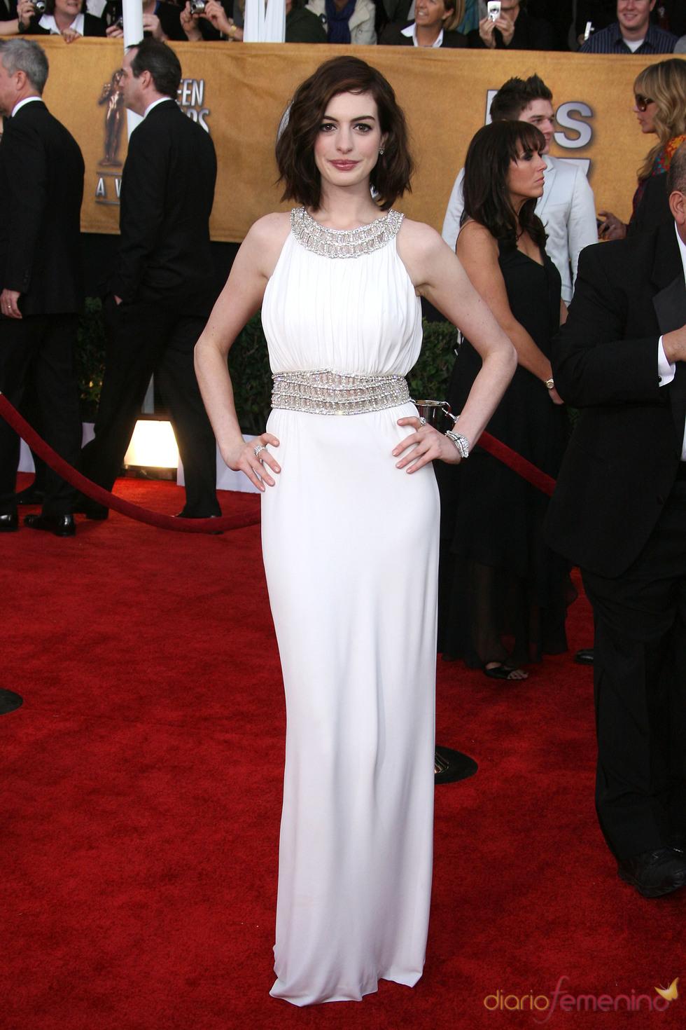Anne Hathaway en los Screen Actors Guild Awards 2009