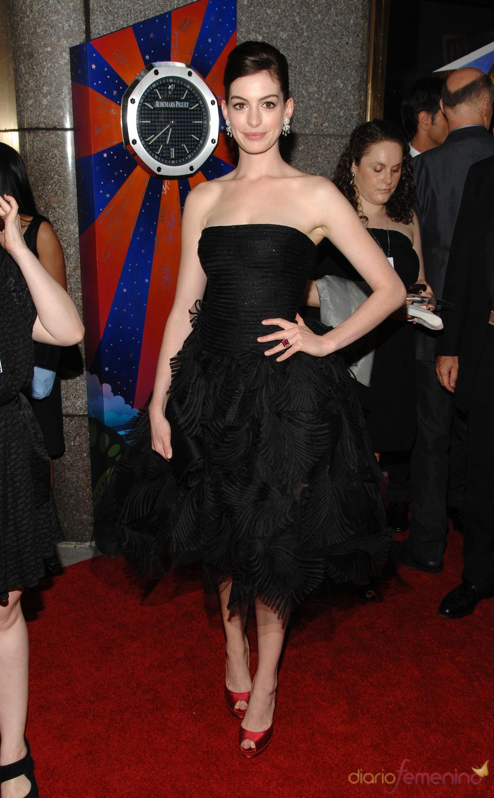 Anne Hathaway en los Annual Tony Awards 2009