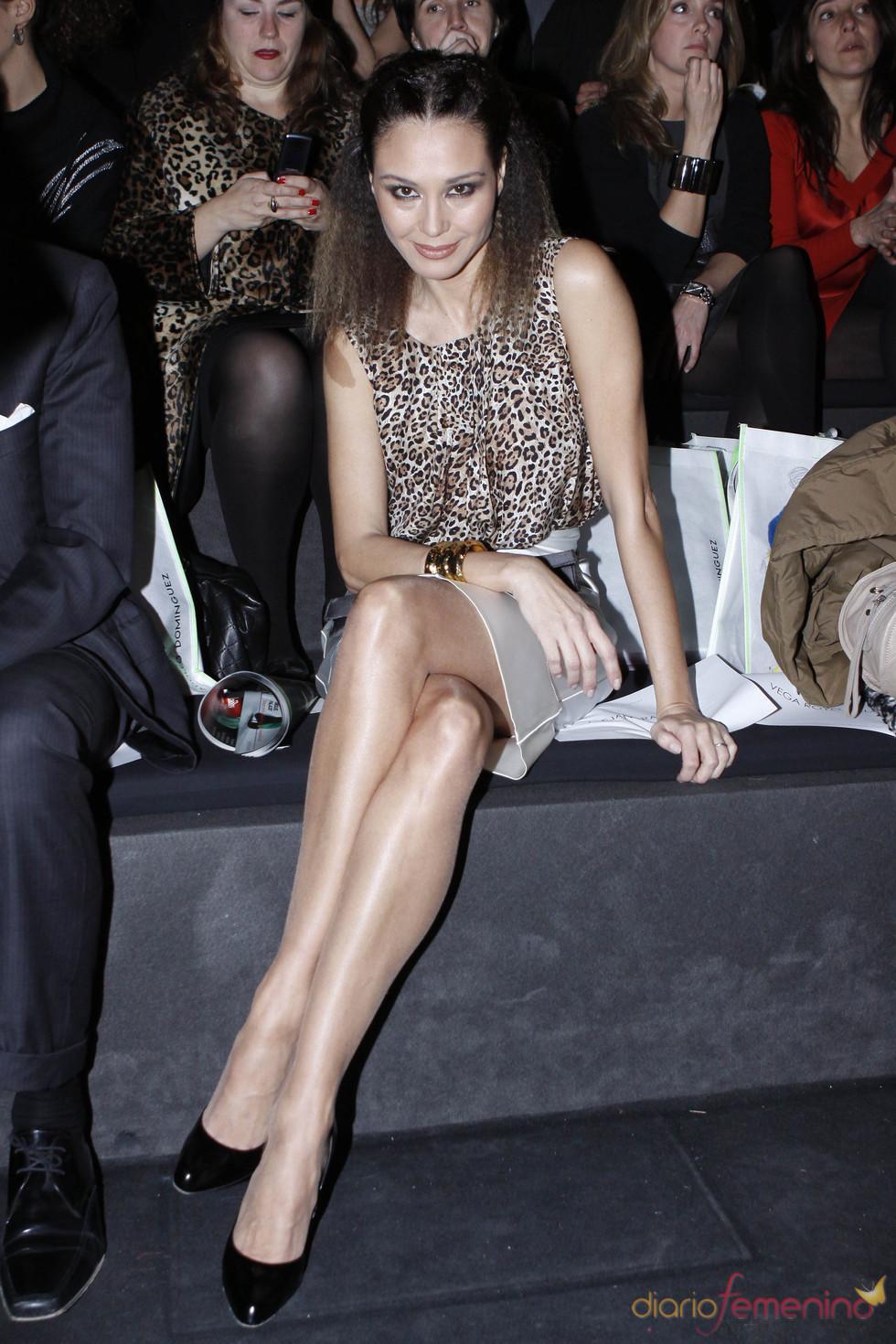 Juncal Rivero en la Cibeles Madrid Fashion Week 2011