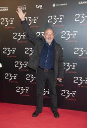 Jesús Bonilla en el estreno de la película 23-F