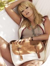 Kate Moss para la firma de marroquineria Longchamp