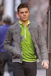 Zac Efron se une a la moda de la ropa flúor