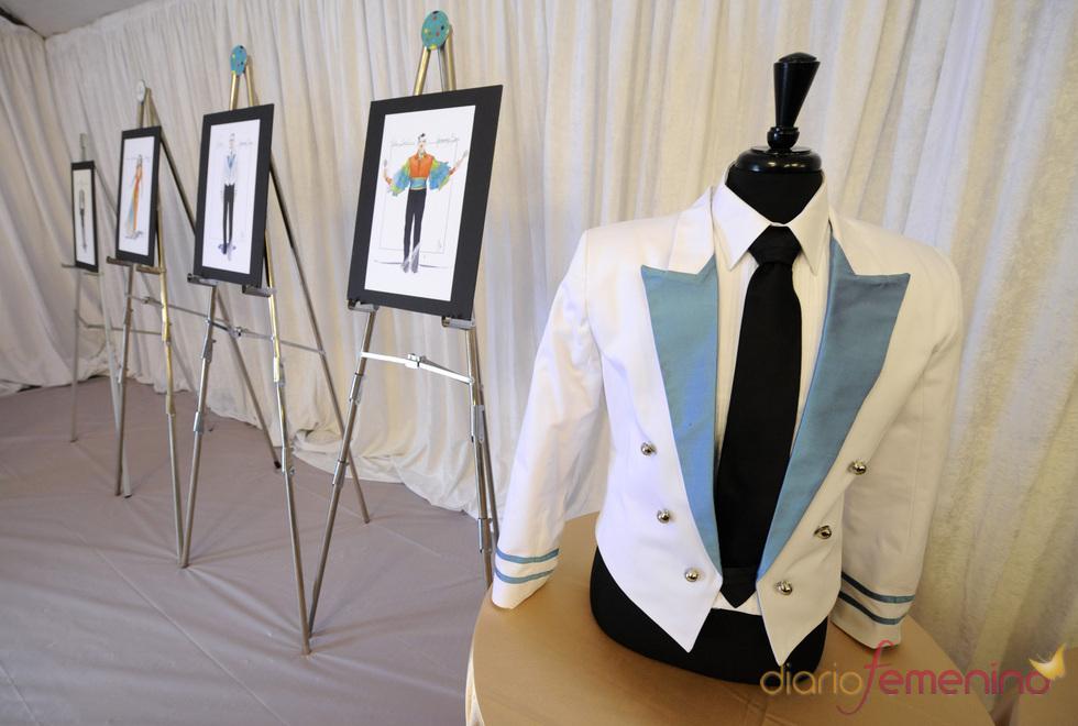 Uniforme de los camareros de la cena de los Oscars 2011