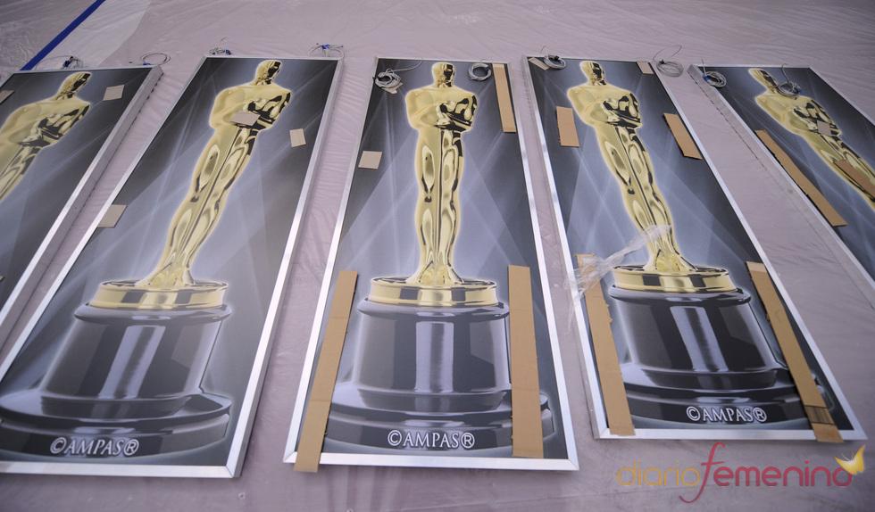 Todo listo para los Oscars 2011