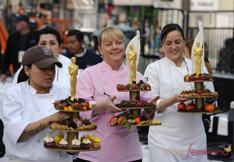 Los postres de la cena de los Oscars 2011