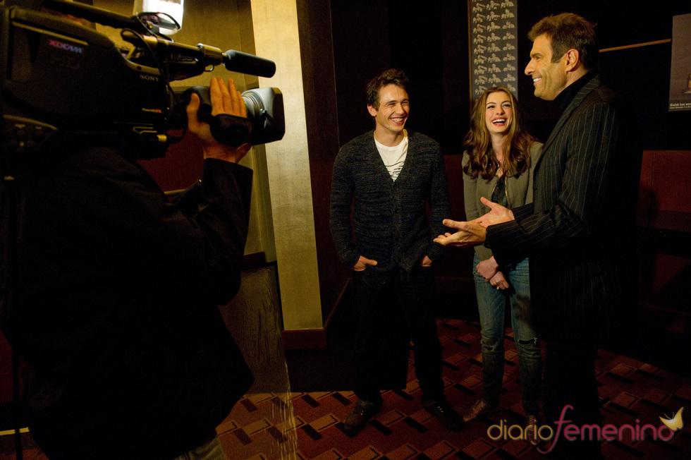Entrevista con Anne Hathaway y James Franco, presentadores de los Oscars 2011