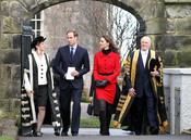 Kate Middleton y el Príncipe Guillermo vuelven a la Universidad