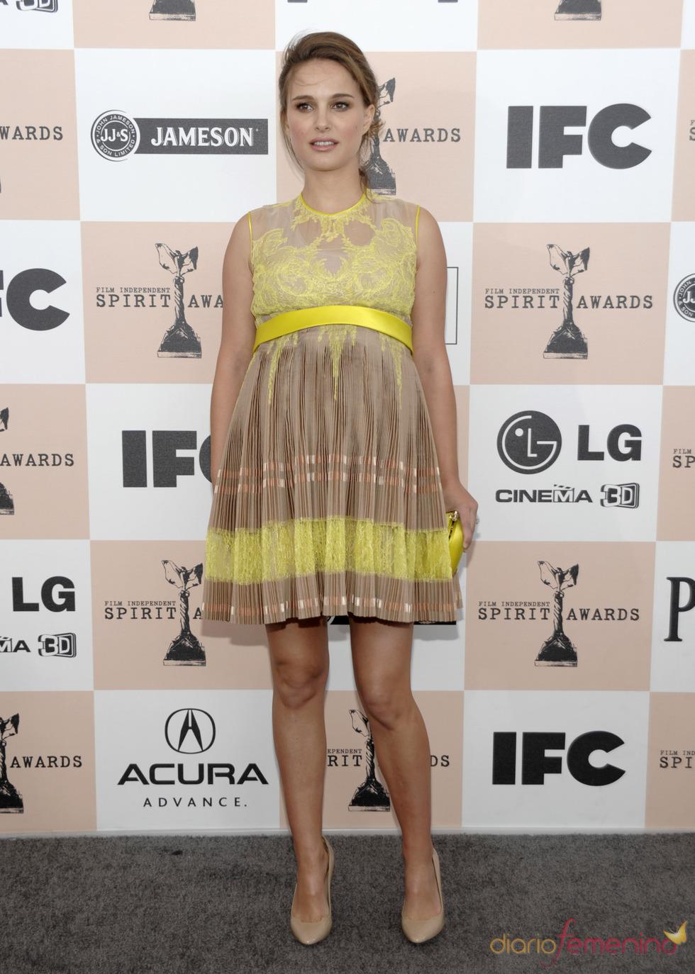 Natalie Portman en los Premios Spirit 2011