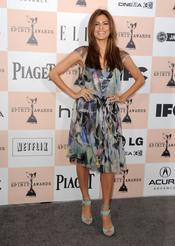 Eva Mendes en los Premios Spirit 2011