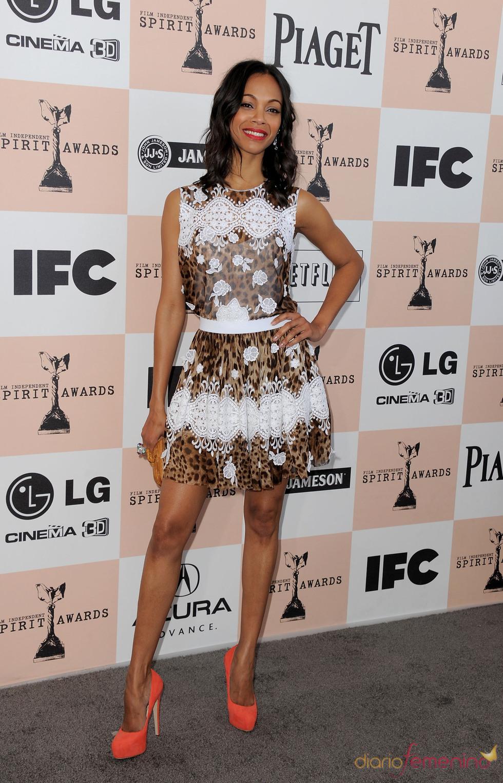 Zoe Saldana en los Premios Spirit 2011