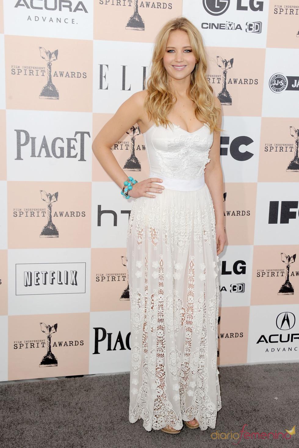Jennifer Lawrence en los Premios Spirit 2011