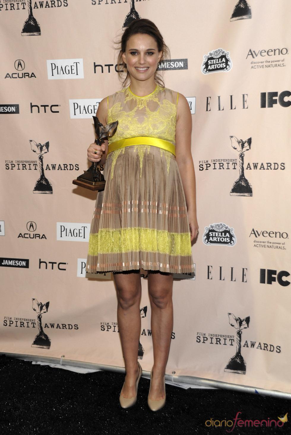 Natalie Portman, 'Mejor actriz' en los Premios Spirit 2011