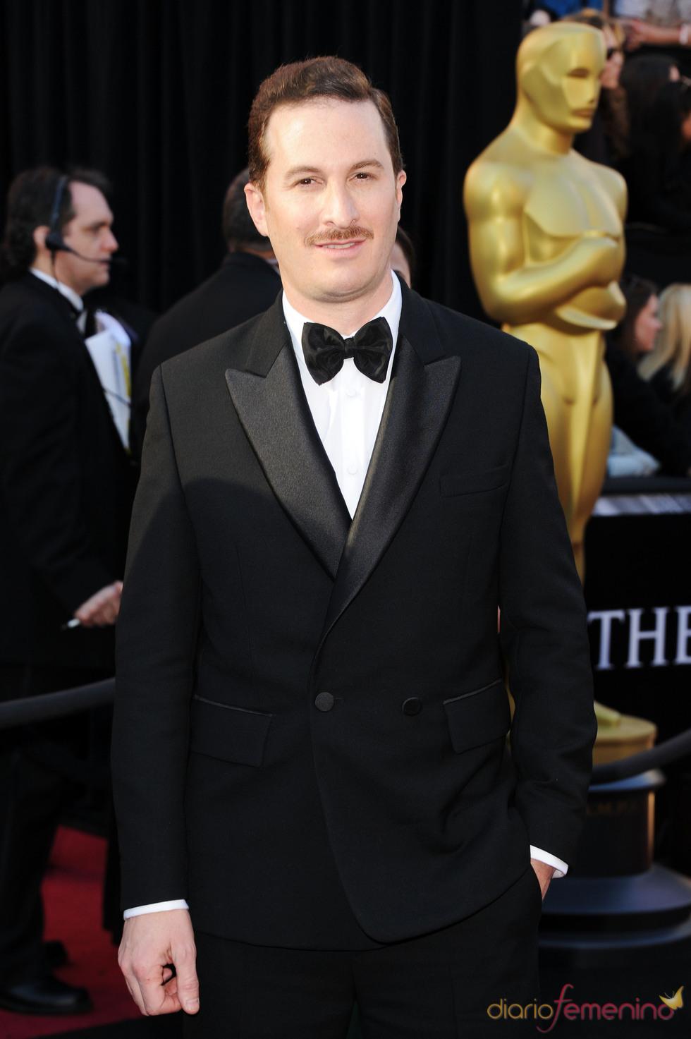 Darren Aronofsky posa en la alfombra de los Oscar 2011