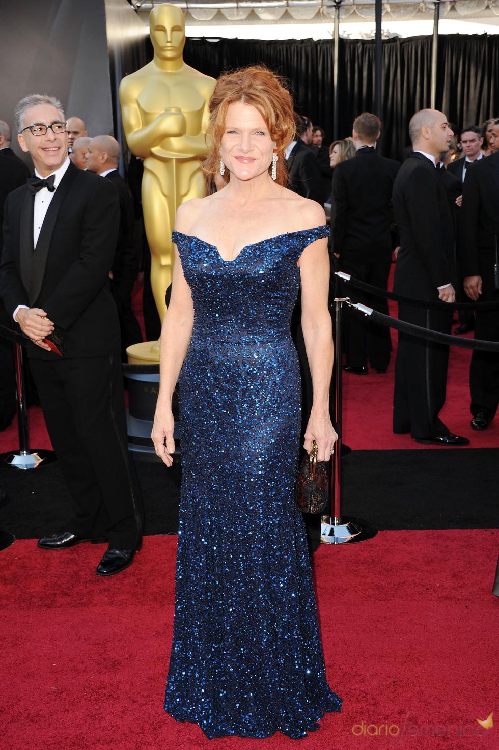 Dale Dickey posa en la alfombra roja de los Oscar 2011