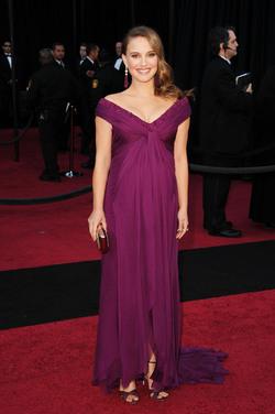 Natalie Portman, radiante pre-mamá