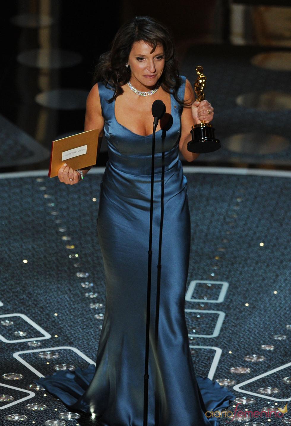 Susanne Bier, directora de 'In a better world', mejor película de habla no inglesa. Oscar 2011