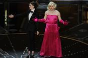 James Franco disfrazado de Marilyn Monroe. Oscar 2011