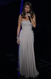 Celine Dion canta en los Oscar 2011