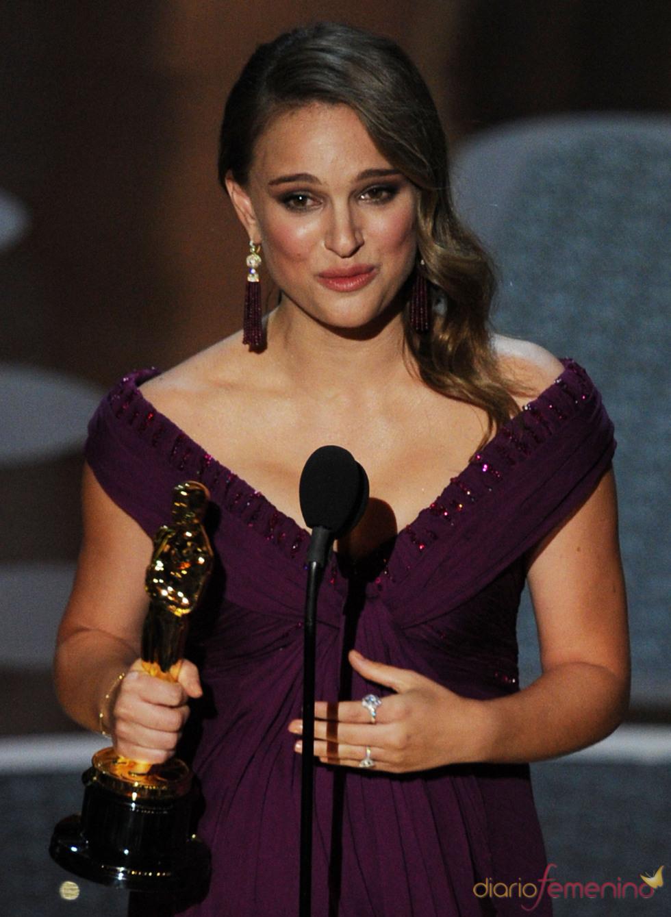 Natalie Portman. Oscar a la mejor actriz 2011 por Black Swan