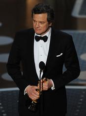 Colin Firth, Oscar 2011 al mejor actor por 'El discurso del Rey'