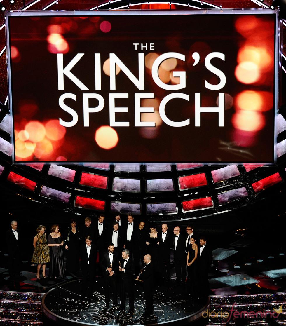 Oscar 2011 a la mejor película: 'El discurso del Rey'