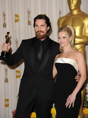 Christian Bale y Reese Witherspoon en los Oscars 2011